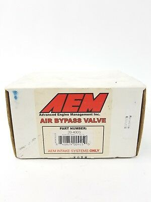 "AEM Air Bypass 20-400S 2.25"" Valve In Original Packaging MH0408"