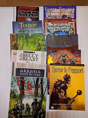 Dungeons & Dragons RPG D20 Lot- Books/modules- 11 Items!! Free Shipping!