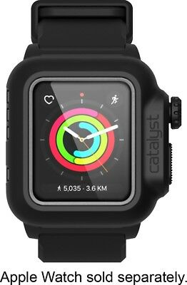 Catalyst - Band and Case for Apple Watch 38mm Series 2 and Series 3 - Black