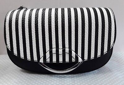 Lulu Guinness Small Isabella Leather Black/Chalk Bnwt Rrp£350 *Final Reduction *