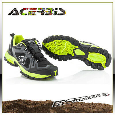 Scarpe Acerbis Trail Wr Shoes Impermeabile Waterproof Rinforzate Taglia 45