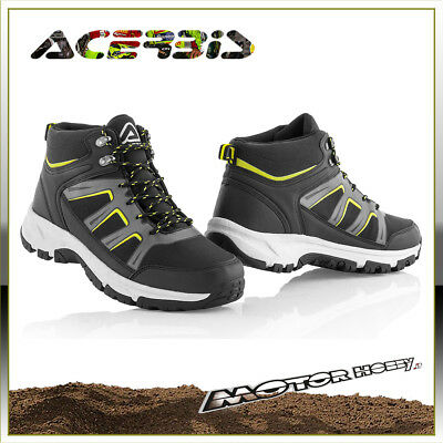 Scarpe Acerbis Mud Shoes Impermeabile Waterproof Rinforzate Taglia 43