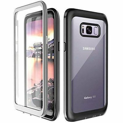 For Samsung Galaxy S8 Waterproof Case 360 Shockproof Cover Screen Protector Slim
