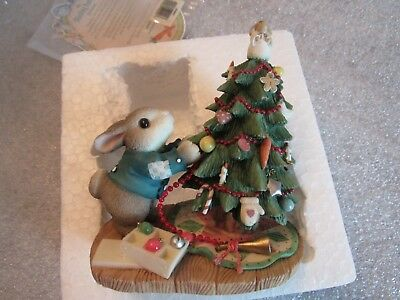 """My Blushing Bunnies~""""Blessings on the Tree for All to See~MIB"""