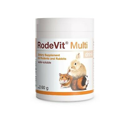 RodeVit Vitamins Minerals Supplement Water-Soluble 60g for Rabbits & Rodents