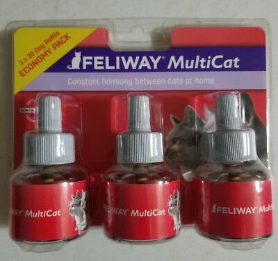 Feliway MultiCat 3 x 30 Day Refills for Cats