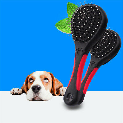 Double Sides Dog Cat Comb Pet 2 Faces Puppy Brush Grooming Tool Long Short TH