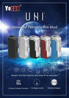 Authentic Yocan1 Uni  510 Battery With Adjustable Cart Sizing (650Mah)