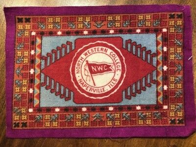 antique Tobacco Premium North Western College early 1900's in the school colors!