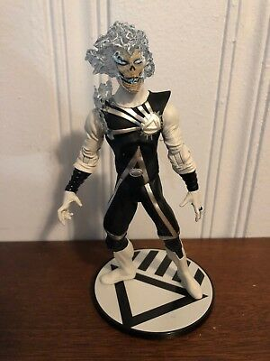 DC Direct Black Lantern Deathstorm w/ Base Firestorm Green Lantern