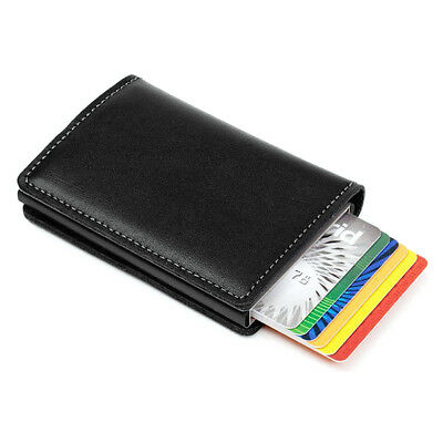 New Classic PU Leather Credit Card Money Cash Holder Business Wallet Purse Gift
