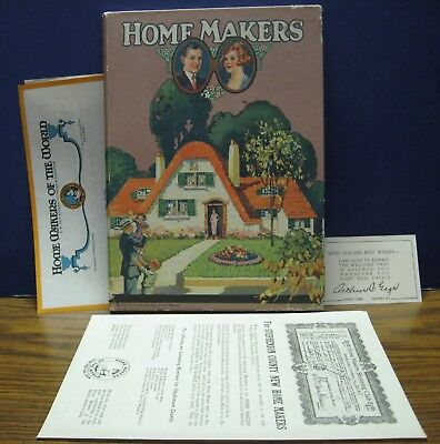 Home Makers of the World Marriage Memories and Guide Book 1923 Vintage