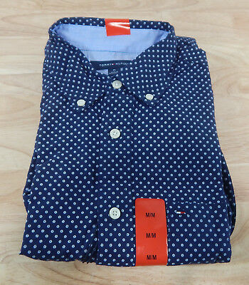 Mens Tommy Hilfiger Classic Fit Cotton Button Down Dress Casual Shirts - Variety