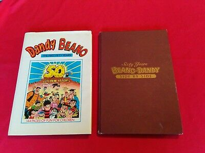 The Dandy And The Beano - 50 Golden years & 60 years side by side