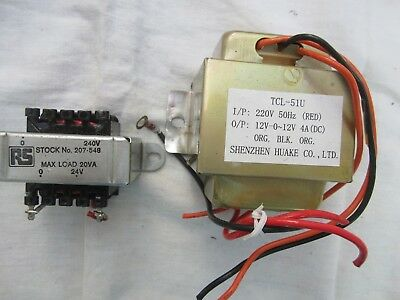 Two mains transformers.