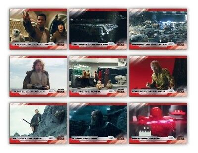 Selects-The Last Jedi-Tlj-Series 2-White-9 Card Set-Topps Star Wars Card Trader