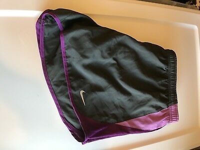 Womens Large L Nike Dri-Fit Workout Athletic Running Shorts Tempo Gym