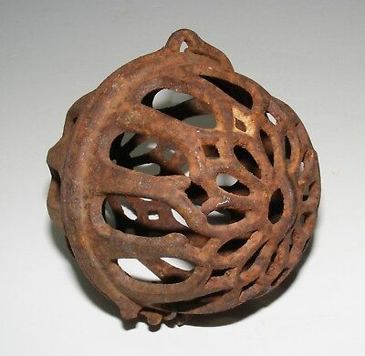 Antique Cast Iron General Store Hanging String Holder