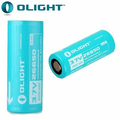 26650 Lithium LED Torch Battery, Olight, Batteries, 26650