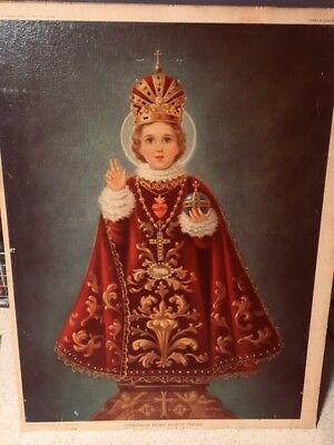 Edward Gross 1944 miraculous infant Jesus of Prague Clayton Braun rare