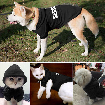 SECURITY Dog Coat Chihuahua Clothes Hoodie Sweatshirt Jackets Apparel for Yorkie