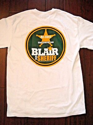 Corrupt Florida Sheriff Blair Law Marion County Campaign Tshirt Read Story