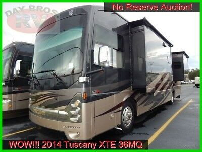 14 Thor Motor Coach Tuscany XTE 36MQ Used Class A Diesel Motorhome RV No Reserve