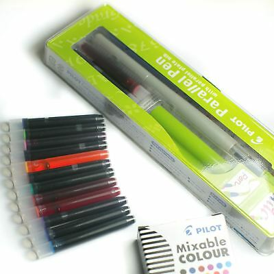 Pilot Parallel FP3-24 Calligraphy Pen - 3.8mm + FREE 12 Assorted Ink Cartridges