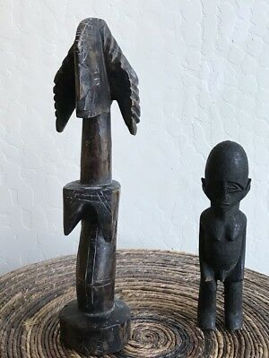 African art statues - 2 for one price!!