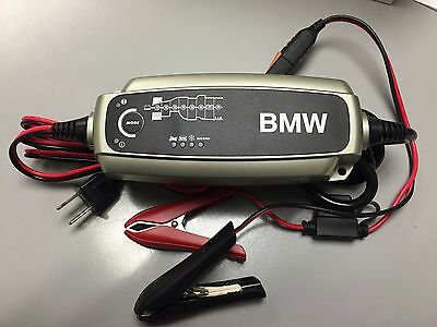 BMW BATTERY CHARGER 61432408594  easy to read display automatic 8-stage charging