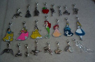 Handcrafted Clip-On Charms Inspired by the Magical Disney Films