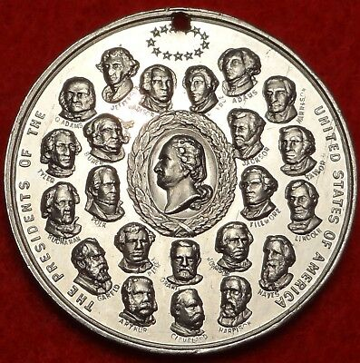 1893 World's Columbian Exposition THE PRESIDENTS MEDAL 31MM IL E-34 SO CALLED $1