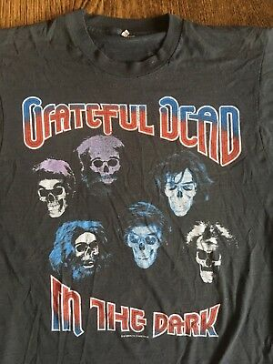 "VTG Grateful Dead ""In The Dark"" T-Shirt M vintage 80s jerry garcia"