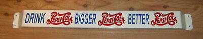 1950's Pepsi Cola Advertising Retro Door Push Bar