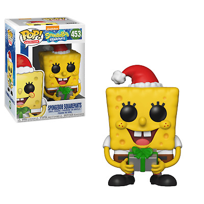 Funko POP! Vinyl Figure Animation Nickelodeon Holiday SPONGEBOB SQUAREPANTS #453