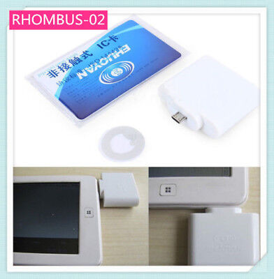 Adaptible RFID Reader for Android NFC Micro Usb 4/7 Bytes UID