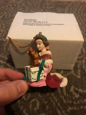 Beauty And The Beast Disney Christmas Ornament