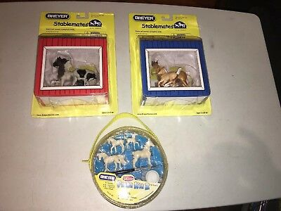 2006 Breyer Stablemates Horse & Foal Lot With Paint Kit New Toy