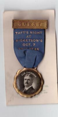 "One Day Event Ribbon Badge October 7 ""taft's Knight At Ricketson's Conneticut"