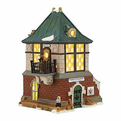 "Dept 56 Dickens Village ""THE HARBOURMASTER HOUSE"" New 2016 FREE SHIPPING"