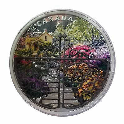 Canada 2017 Secret Garden .999 Fine 2 oz Silver Coin 125-48