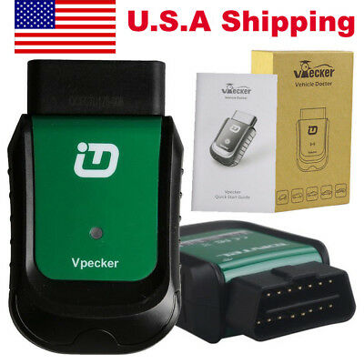 USA Ship V9.1 VPECKER Easydiag WINDOWS 10 Wireless OBDII Full Diagnostic Tool