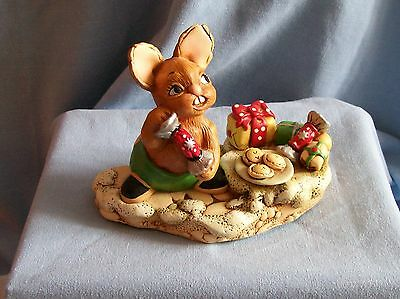 Pendelfin CRACKER Christmas Piece Made in England