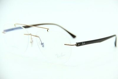 d5cce9b0e8f New Ray-Ban Rb 8749 1131 Brown Eyeglasses Authentic Frame Rx Rb8749 54-14