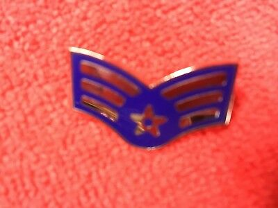 Us Air Force Senior Airman E-4 Rank Regulation Size Pin