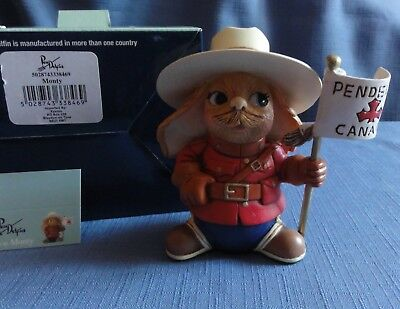 Pendelfin MONTY Canadian Exclusive RCMP officer