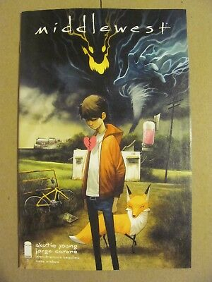 Middlewest #1 Image 2018 Series Skottie Young 1st Print 9.6 Near Mint+