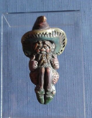 Pendelfin PHYNNODDEREE (Manx Pixie) Miniature A Wall Plaque