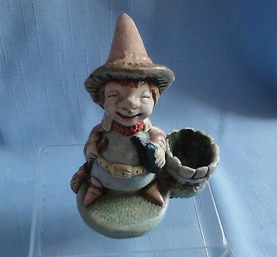 Pendelfin TIPSY WITCH Rare old piece designed Jean W. Heap