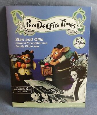PENDELFIN TIMES SPRING 2009 Canadian Edition Family Circle Hard to Find